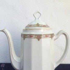 Antigüedades: CAFETERA ANTIGUA EN PORCELANA DE LIMOGES SELLADA LIMOGES MAVALEIX & CIE 1910. Lote 51019497
