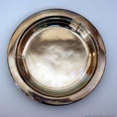 Antigüedades: ANTIGUA BANDEJA EN PLATA DE 925 MM - CONTRASTE DE MEXICO - DF. Lote 51027806