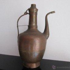 Antigüedades: JARRA DE COBRE GRANDE VEAN FOTOGRAFIAS Y DESCRIPCION. Lote 51031355