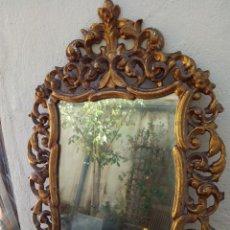 Antigüedades: ESPECTACULAR CORNUCOPIA BARROCA DE MADERA DORADA ANTIGUO S.XVIII-XIX (NO SE ENVÍA). Lote 51035241