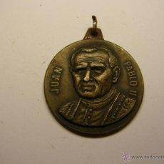 Antigüedades: MEDALLA RELIGIOSA, PAPA JUAN PABLO II.. Lote 51038543