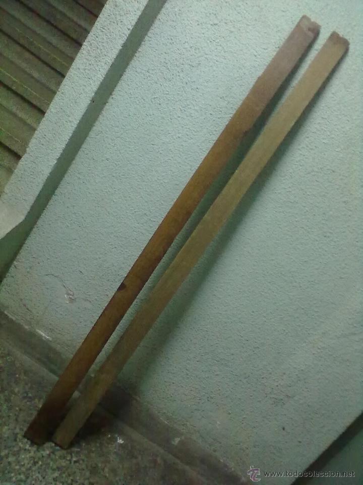 Antigüedades: CAMA MADERA TORNEADA PARA RESTAURAR - Foto 6 - 51046271