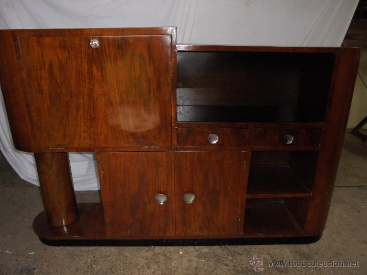 Mueble bar estilo art deco principios comprar for Muebles auxiliares segunda mano