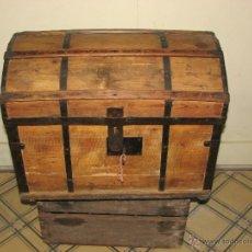 Antigüedades: ANTIGUO BAUL. Lote 51052887