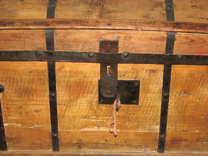 Antigüedades: ANTIGUO BAUL - Foto 2 - 51052887