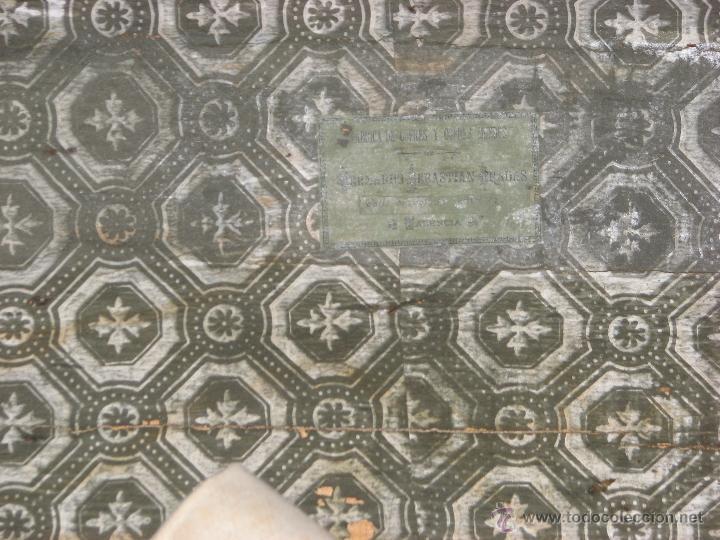 Antigüedades: ANTIGUO BAUL - Foto 5 - 51052887