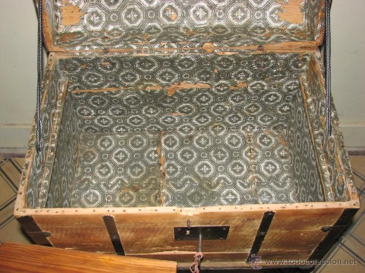 Antigüedades: ANTIGUO BAUL - Foto 11 - 51052887