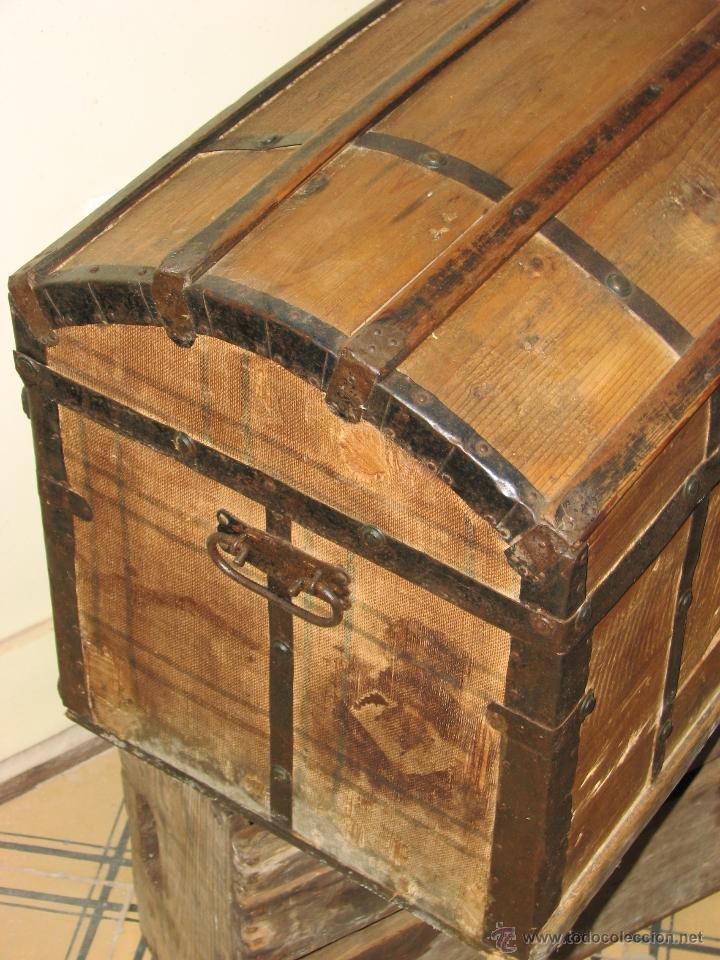 Antigüedades: ANTIGUO BAUL - Foto 16 - 51052887