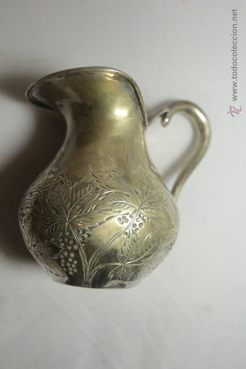 ANTIGUA JARRITA, DE 9CM, EN PLATA DE LEY (Antigüedades - Platería - Plata de Ley Antigua)