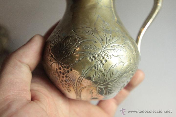 Antigüedades: Antigua jarrita, de 9cm, en plata de ley - Foto 7 - 51054084