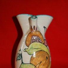 Antigüedades: JARRA DE CERAMICA PUENTE DEL ARZOBISPO (TOLEDO). Lote 51074047