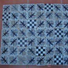 Antigüedades: LOTE DE AZULEJOS OLAMBRILLAS (TRIANA). Lote 51093552