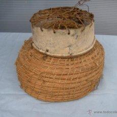 Antigüedades: ANTIGUA JAULA DE HURÓN HURONERA. Lote 51096858