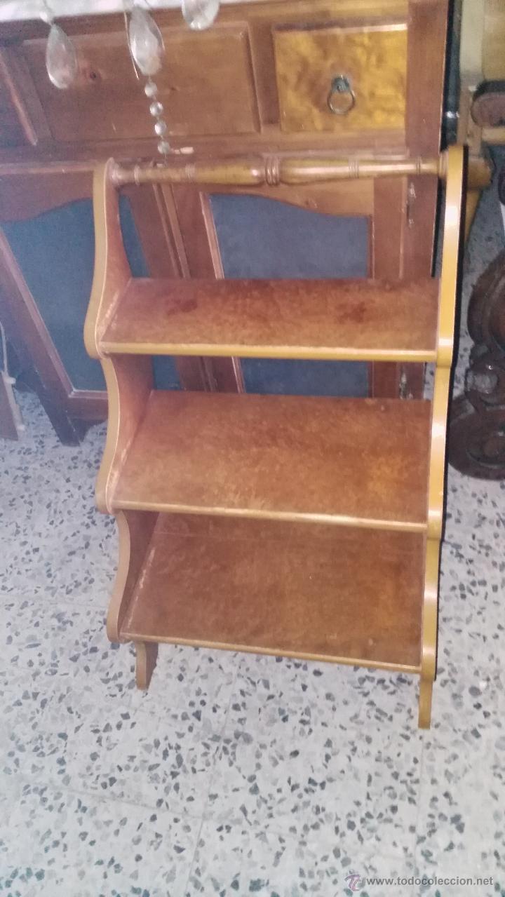 ESCALERA, PIEZA ÚNICA (Antigüedades - Muebles Antiguos - Auxiliares Antiguos)