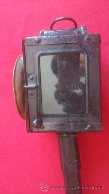Antigüedades: ANTIGUO FAROL DE CARRO - Foto 2 - 51119750