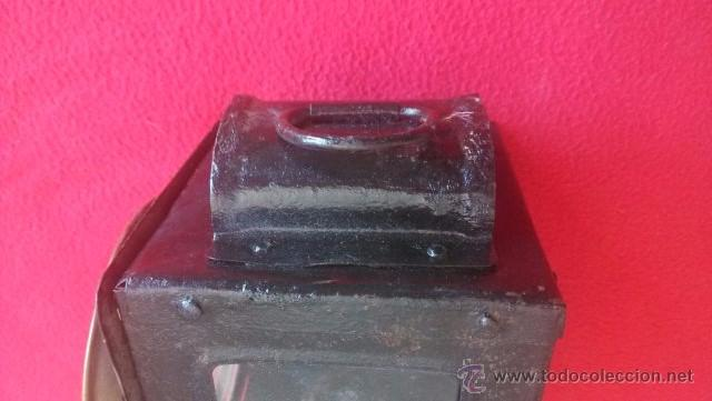 Antigüedades: ANTIGUO FAROL DE CARRO - Foto 7 - 51119750