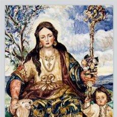 Antigüedades: AZULEJO 40X25 DE LA PASTORA DE CANTILLANA. Lote 51120197