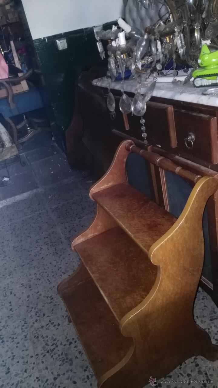 Antigüedades: ESCALERA, PIEZA ÚNICA - Foto 2 - 51107994
