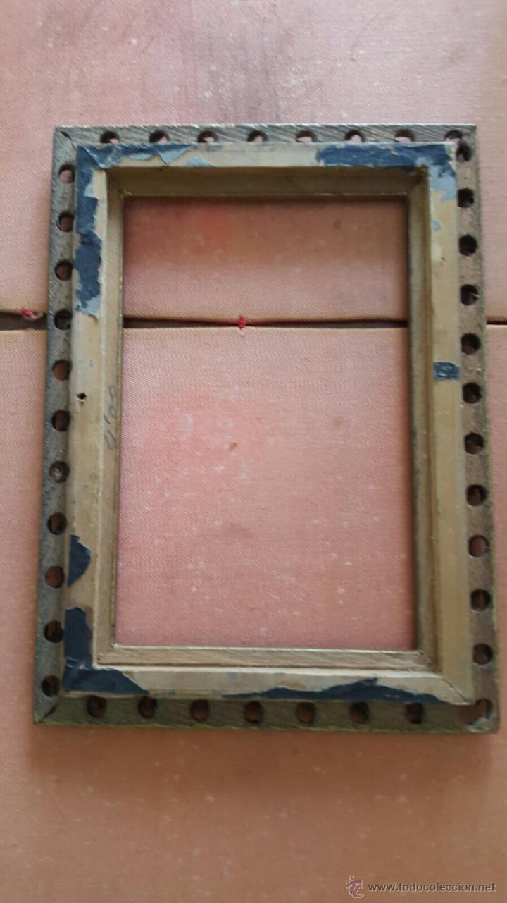 Antigüedades: Antiguo Marco madera dorada - Foto 2 - 51136183