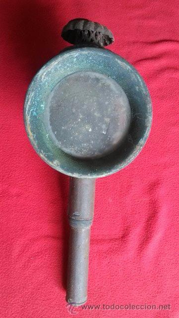 Antigüedades: ANTIGUO FAROL DE CARRO - Foto 4 - 51139779