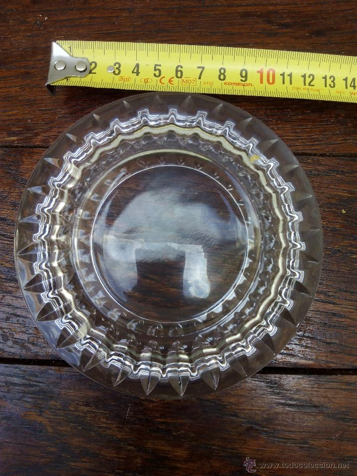 Antigüedades: Centro de mesa de cristal tallado - Foto 3 - 51147600