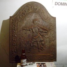 Antigüedades: ANTIGUA PLACA DE CHIMENEA.. Lote 51149115
