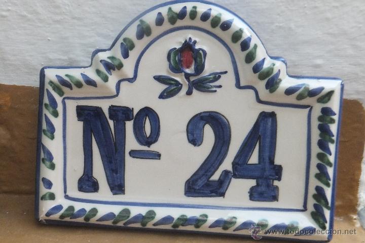 Azulejo se alizaci n casa numero 24 con granada comprar for Azulejo numero casa