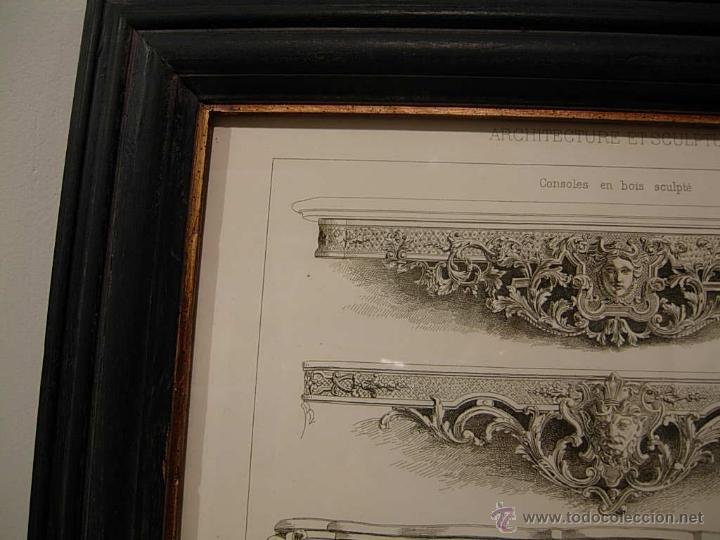 Antigüedades: GRABADO DE DIBUJOS DE CONSOLAS - Foto 2 - 51150624