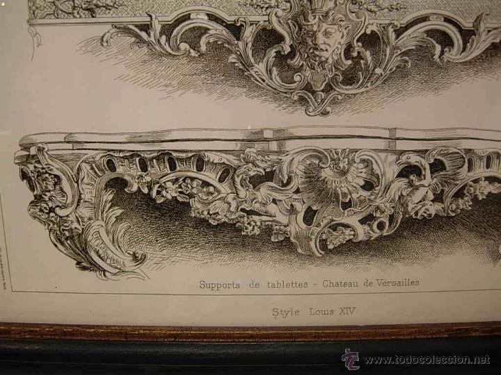 Antigüedades: GRABADO DE DIBUJOS DE CONSOLAS - Foto 3 - 51150624