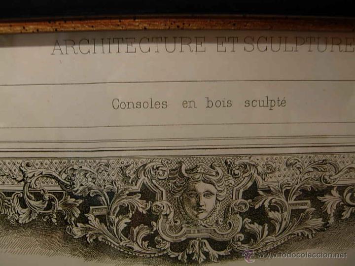 Antigüedades: GRABADO DE DIBUJOS DE CONSOLAS - Foto 4 - 51150624