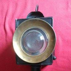 Antigüedades: ANTIGUO FAROL DE CARRO. Lote 51155321