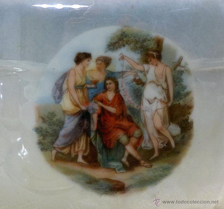 Antigüedades: ANTIGUO Y COMPLETO JUEGO DE CAFÉ, DOCE SERVICIOS, EN PORCELANA. - Foto 22 - 51162324