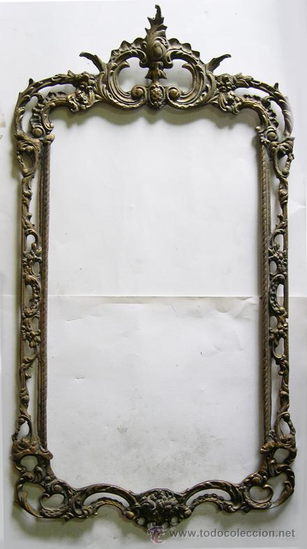 Esplendido marco de bronce para espejo comprar espejos - Espejo veneciano antiguo ...
