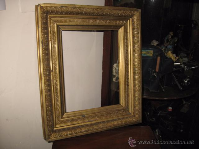 marco para cuadro o espejo en madera antigua co - Comprar Marcos ...