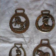 Antigüedades: MEDALLAS HÍPICAS INGLESAS. ENGLISH EQUINE BRONZE MEDALS.. Lote 51178325