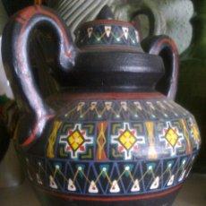 Antigüedades: RECIPIENTE EN BARRO -. Lote 51180483