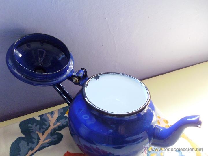 Usado, CAFETERA Porcelana esmaltada-marca IBILI segunda mano