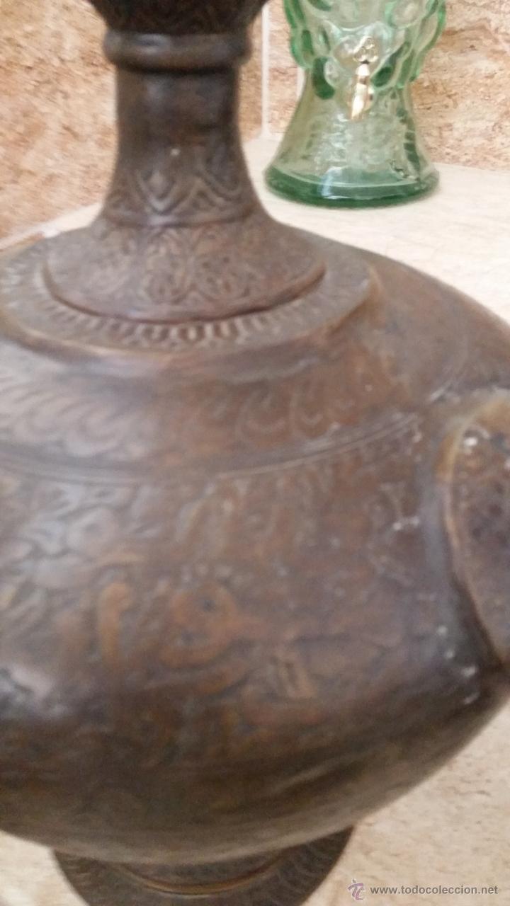 Antigüedades: JARRON CON GRABADOS - Foto 3 - 51154108