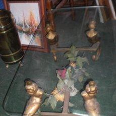 Antiquitäten - Mesa con cristal 100x50cm y altura 40cm - 51217553