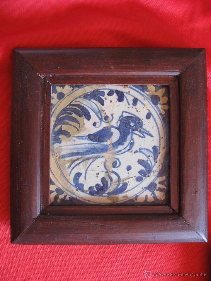 Antigüedades: Pareja de azulejos sevillanos Siglo XVIII - Foto 3 - 51222216