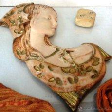 Antigüedades: VIEJO BUSTO VIRGEN MARÍA. EN RESINA. Lote 51226186