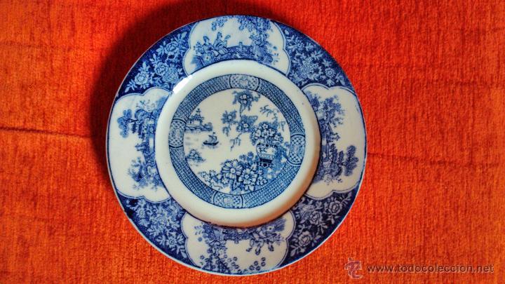 PLATO LLANO SAN JUAN DE AZNALFARACHE (Antigüedades - Porcelanas y Cerámicas - San Juan de Aznalfarache)