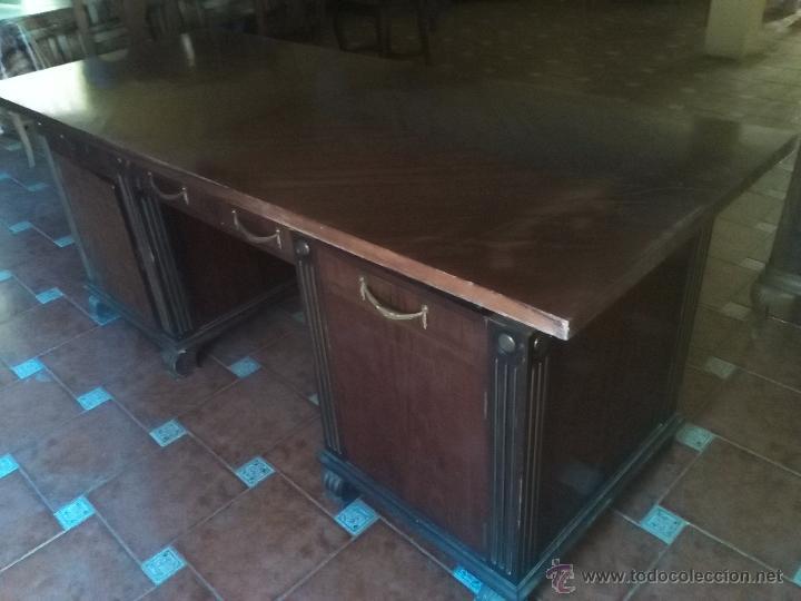 Antigüedades: Mesa Despacho S.XVIII-XIX. - Foto 2 - 51237938