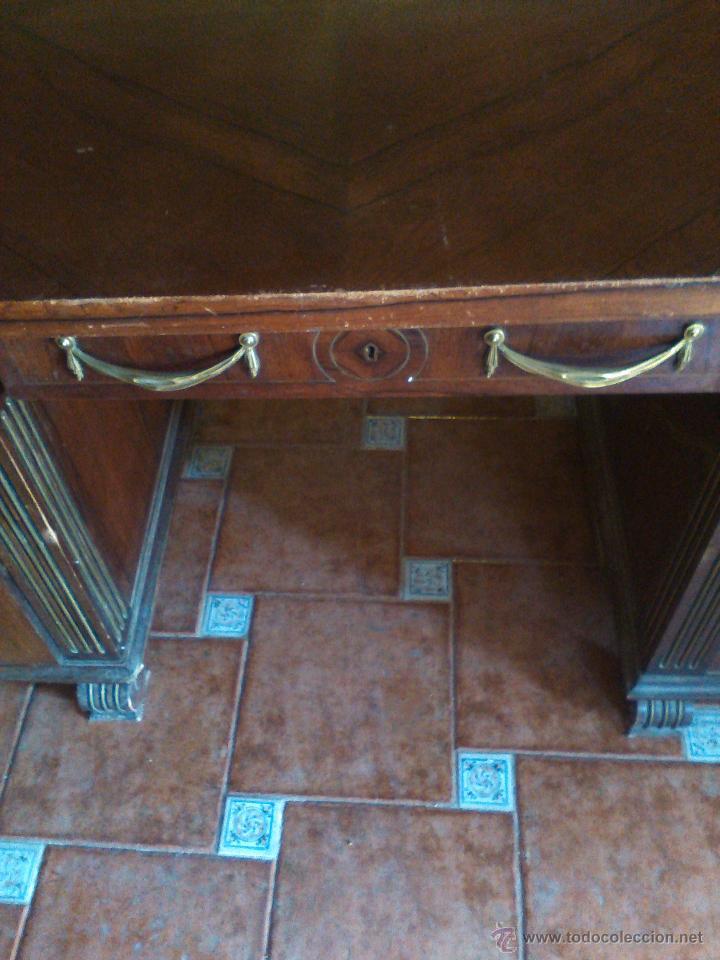 Antigüedades: Mesa Despacho S.XVIII-XIX. - Foto 3 - 51237938