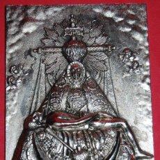 Antigüedades: VIRGEN DE LAS ANGUSTIAS PLACA / APLIQUE VIRGEN DE LAS ANGUSTIAS-02. Lote 51255813