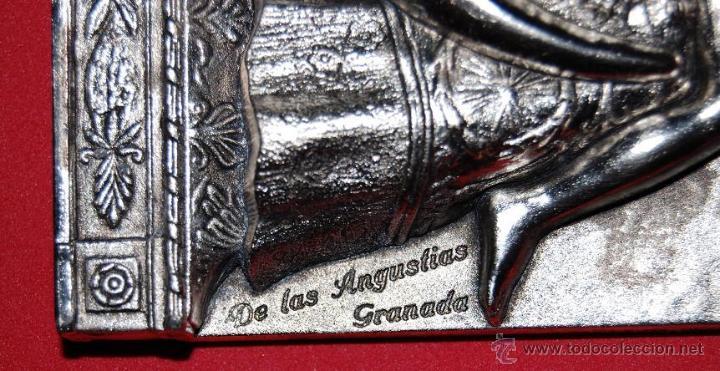 Antigüedades: VIRGEN DE LAS ANGUSTIAS PLACA / APLIQUE VIRGEN DE LAS ANGUSTIAS-02 - Foto 2 - 51255813