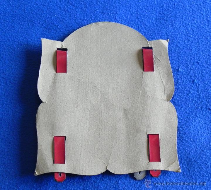 Antigüedades: ANTIGUOS TIRANTES DE TIROLÉS INFANTIL DE CUERO EN BLISTER SIN ESTRENAR - Foto 4 - 51275330