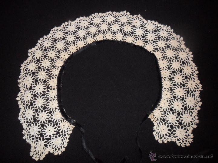 encaje de crochet - antiguo cuello - Comprar Moda Antigua de Mujer ...