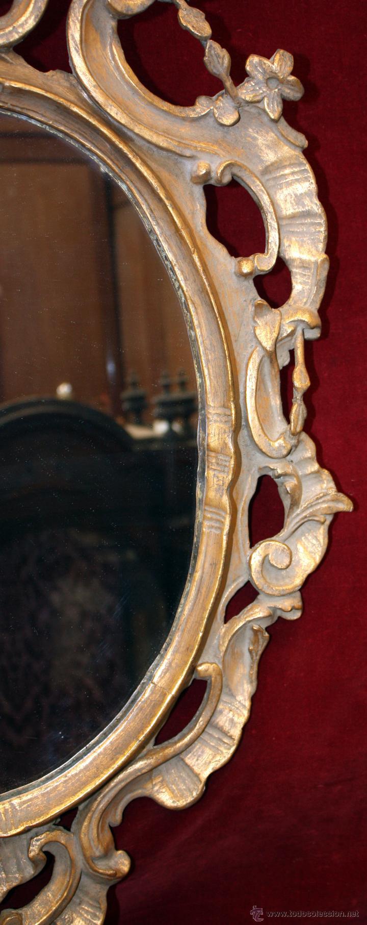 Antigüedades: CORNUCOPIA EN MADERA TALLADA Y POLICROMADA DE MEDIADOS DEL SIGLO XIX - Foto 2 - 51301588