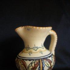 Antigüedades: JARRA DE CERÁMICA DE TALAVERA DEL CARMEN. Lote 51318768
